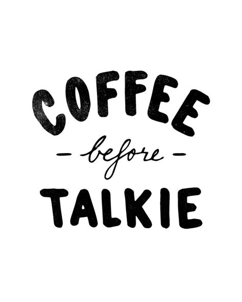 Kaos Coffee Before Talkie coffee before talkie house15143