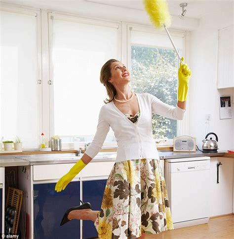 clean the house spring clean burns more calories than marathon daily