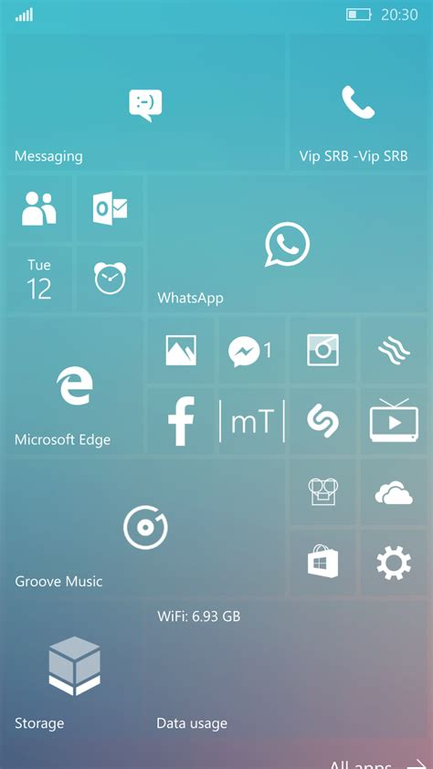themes for mobile home screen 10 start screen per personalizzare windows phone 10 001