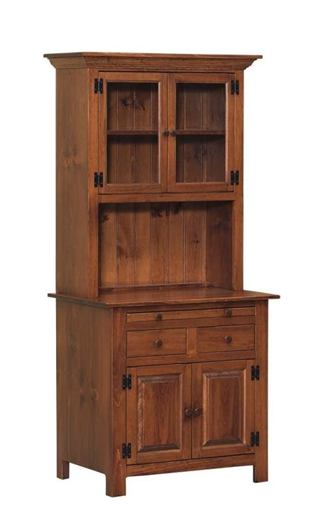 Hoosier Kitchen Cabinets by Small Hoosier Cabinet Peaceful Valley Amish Furniture