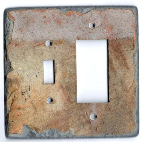 light up outlet covers light switch plate cover rustic wood home decor wall art