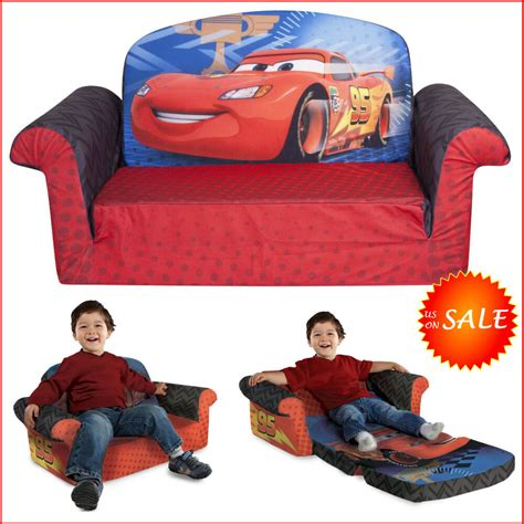 Couches For Toddlers by Disney Car 2in1 Flip Sofa Bed Toddler Boy Sleeper