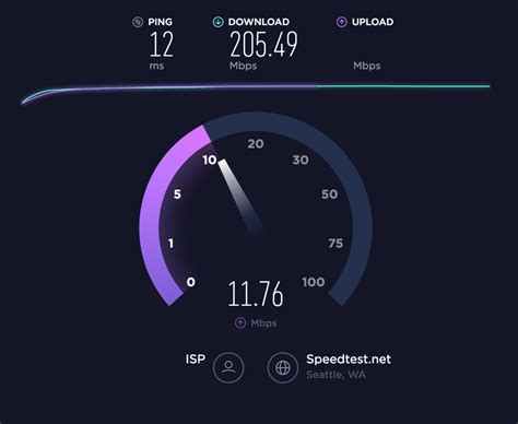 speed test speedtest net