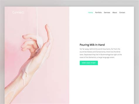 connect free html5 website template using bootstrap