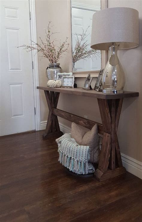 entry table home decor pinterest awesome rustic farmhouse entryway table by http www 99