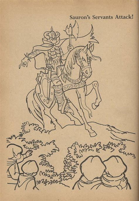 lord of the rings coloring book plaid stallions rambling and reflections on 70s pop