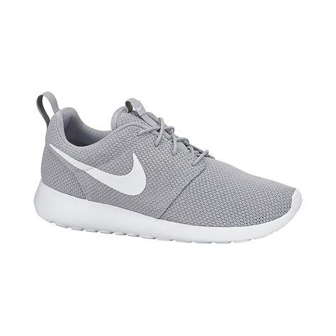 nike s roshe one casual shoes grey white sport chek