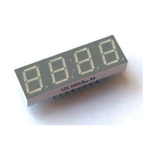 cathode led display led display 7 segment 4 digit 0 40 inch common cathode bright
