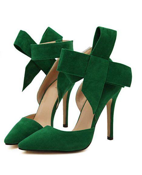 green high heeled shoes a vintage glam emerald green wedding green heels