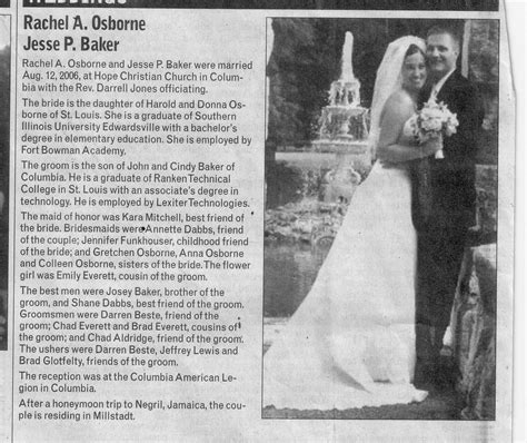 Wedding Announcement Format For Newspaper by Wedding Announcements B0nd3