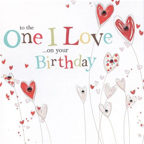 Where To Buy Love To Shop Gift Card - to the one i love on your birthday card karenza paperie