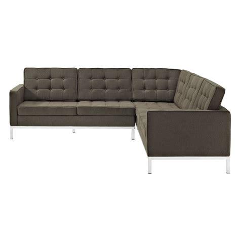 wool sofa bateman wool l shaped section sofa modern furniture
