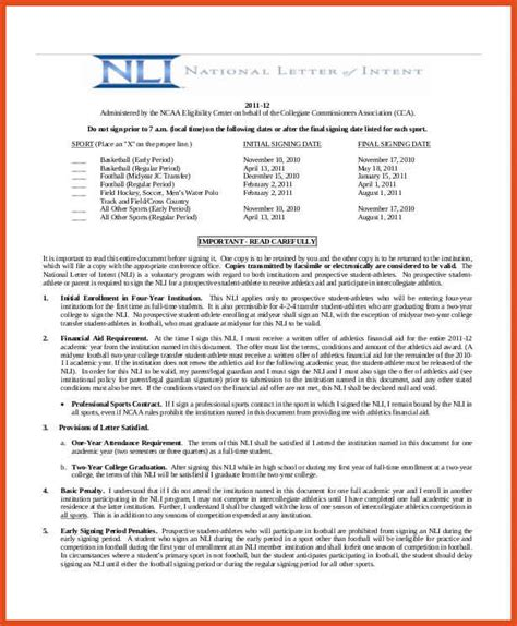 National Letter Of Intent Exle Pdf national letter of intent two 2017 iu signees ask out of