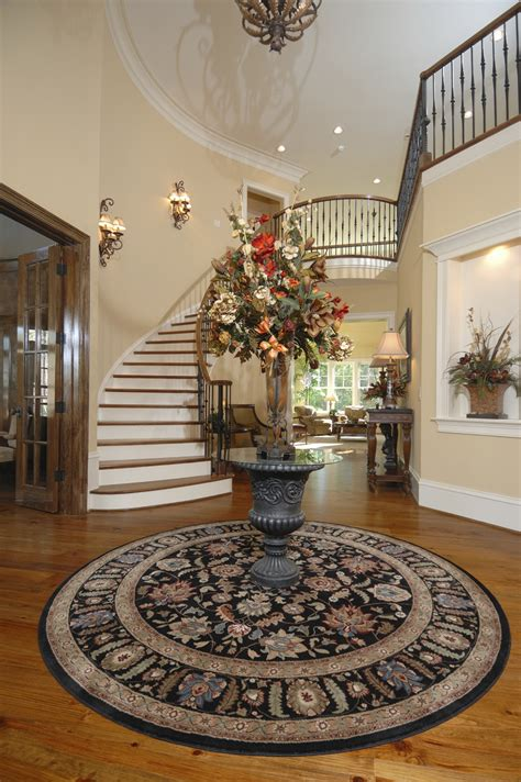 circular entryway round foyer table ideas for your sweet home