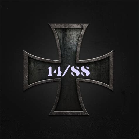 14 88 iron cross background by aryan liebe1488 on deviantart