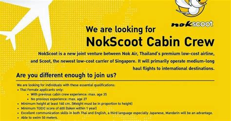 fly gosh nokscoot pilot and cabin crew recruitment base