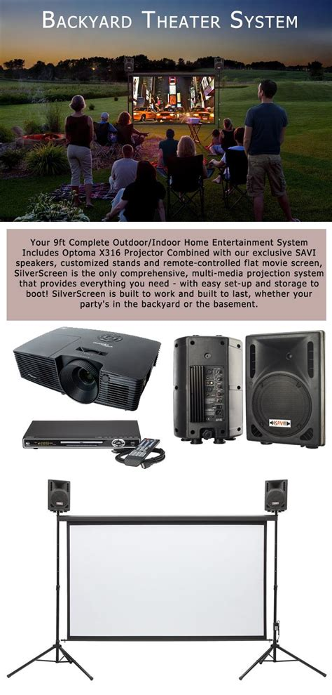 backyard theater systems backyard theater systems outdoor how to set up your own
