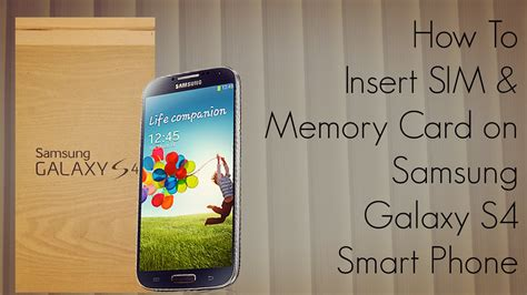 how to make memory card how to insert sim memory card on samsung galaxy s4 smart