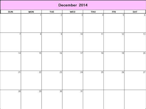 printable weekly calendar dec 2014 december 2014 printable blank calendar