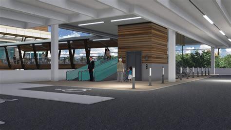 Pavilion Parking Garage by Plan Commission Approves Center Skybridge