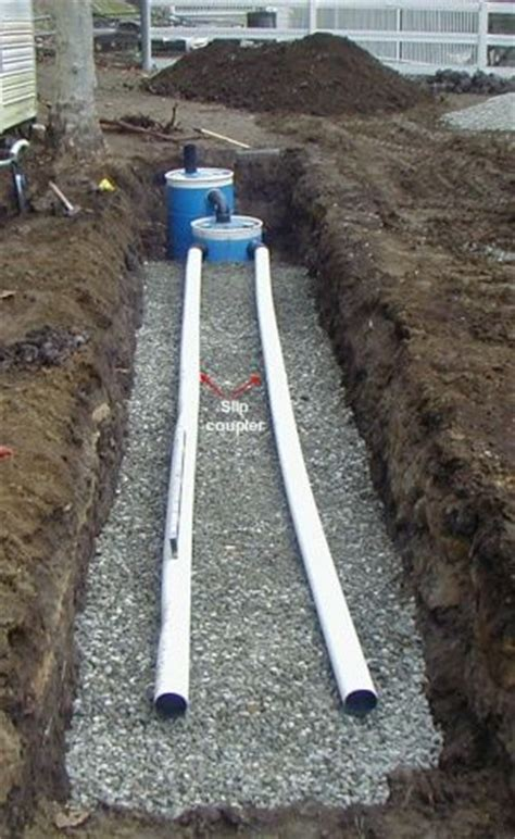 tiny house septic system construct a small septic system crafts survival tips
