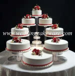Wedding Cake Plates 8 Tier Cascading Wedding Cake Stand Stands Set