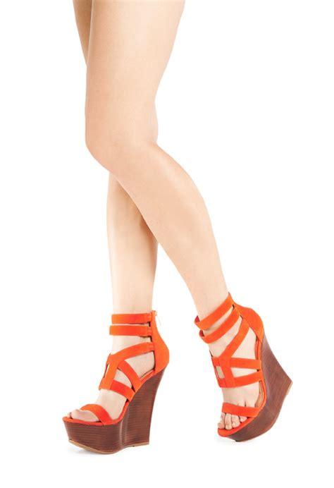 Cp Andina adina schuhe in orange g 252 nstig kaufen bei justfab