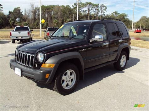older jeep liberty 2006 black jeep liberty sport 25581261 gtcarlot com