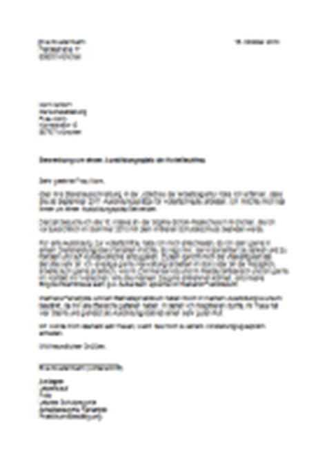Bewerbungsschreiben Ausbildung Hotelfachfrau Muster Azubi Azubine Berufe Datenbank Hotelfachmann