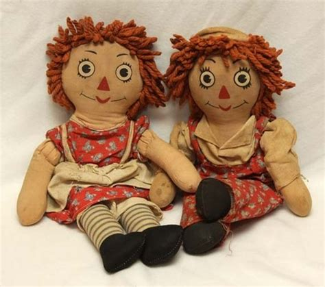Handmade Raggedy And Andy Dolls - 84 best images about raggedy faces on