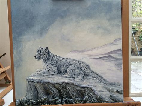 Original Pumpease Snowy Leopard Medium snow leopard original by wutdahek on deviantart