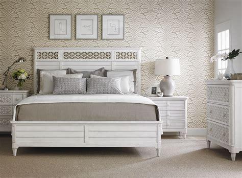coastal living bedroom furniture coastal living parchment cypress grove wood panel bedroom