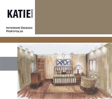 interior design portfolio  katie dunton blurb books