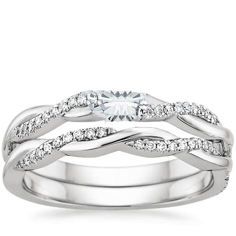 vine wedding ring set settings of engagement ring sets determine their styles