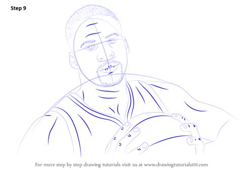 draw d learn how to draw draymond green basketball players step