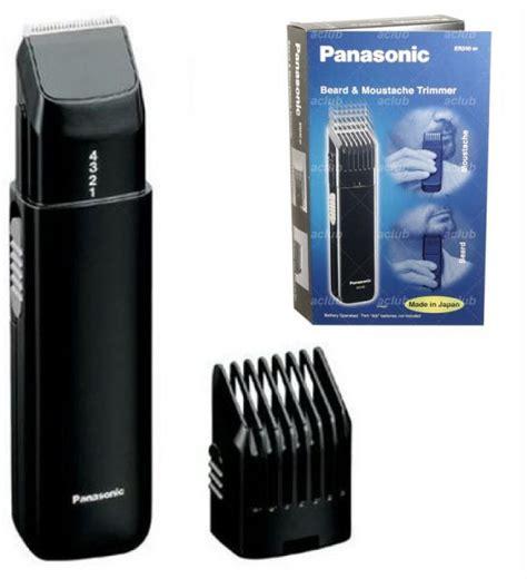 panasonic beard and hair s rechargeable electric panasonic er240bp beard trimmer reviews panasonic er240bp
