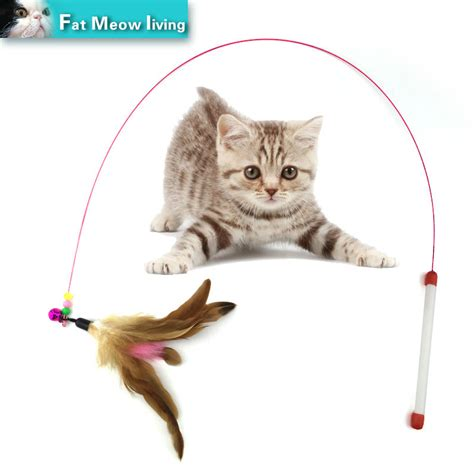 Pet cat toy,Hot,Cute Design,Plastic,Steel Wire,Feather