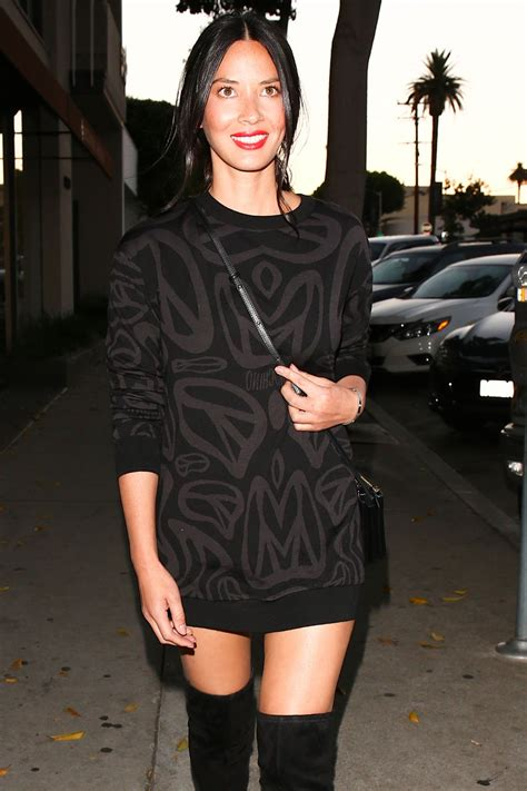 olivia munn boots olivia munn in over knee boots at craig s in west