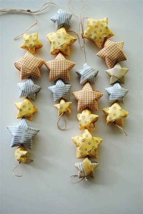 Origami Decorations - diy your baby decoration origami ornaments garland by