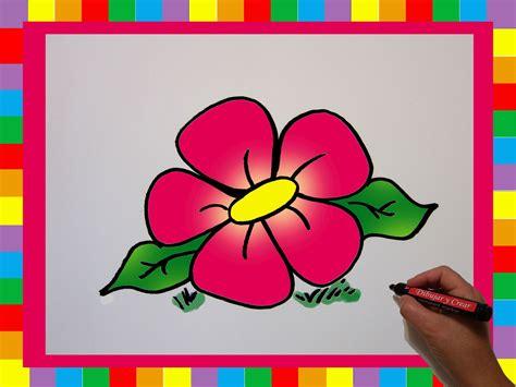floreros para una flor como dibujar una flor how to draw a flower