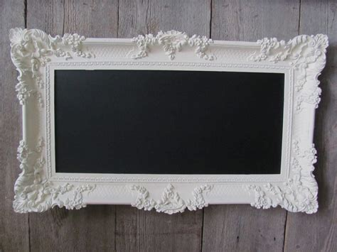 shabby chic wedding chalkboard gorgeous large ornate heirloom