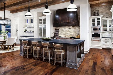 Rustic Kitchen Island With Extra Good Looking Accompaniment Rustic Kitchen Island Ideas