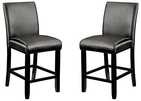 Gladstone Furniture by Gladstone I Black Counter Height Chair Set Of 2 From