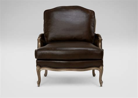 Ethan Allen Leather Chairs by Versailles Leather Chair Ethan Allen