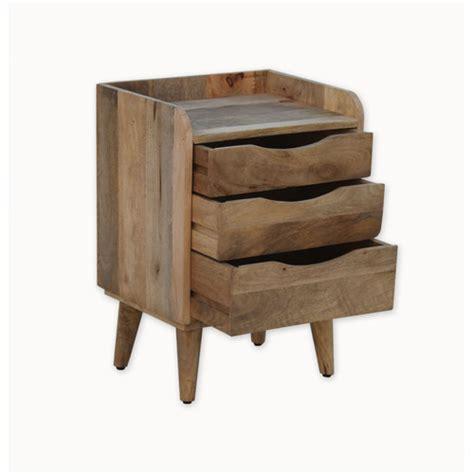 industrial bedside table normandy industrial 3 drawer bedside table temple webster