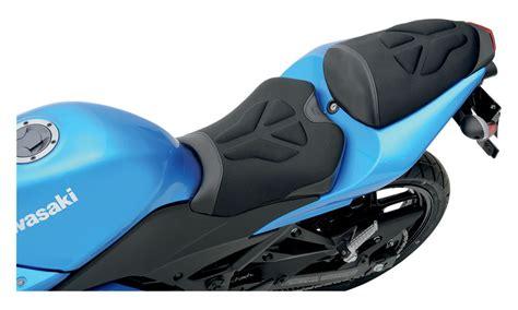Kawasaki Motorcycle Seats by Saddlemen Gel Channel Tech Seat Kawasaki 250r 2008
