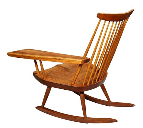 Free Chairs by Rocking Chair With Free Edge Arm By George Nakashima At