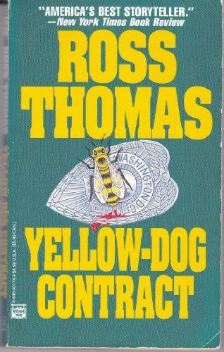 yellow contract ross crime writer