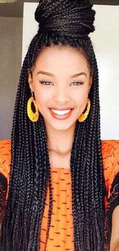 pictures of long single braids in a bun with side swoop pinterest the world s catalog of ideas