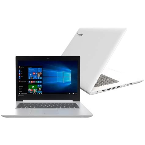 Lenovo Ideapad 320 I3 Bnib notebook lenovo ideapad 320 14ikb intel i3 4gb 500gb tela 14 quot e windows 10 home ef 225 cil